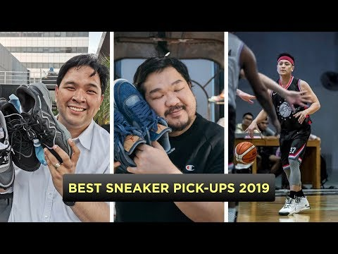 BEST SNEAKERS WE BOUGHT IN 2019 (Ft. Filipino Sneaker YouTubers)