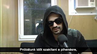 Томо Милишевич, Tomo Milicevic interview at Volt Festival 2011