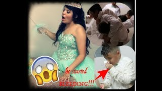 My cousins QUINCEANERA (GONE WRONG!!!)