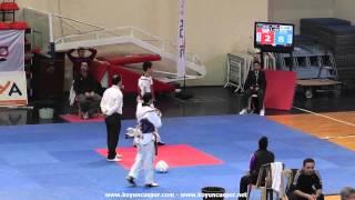 58kg omer alacakaya  orhan gazi guler 2013 turkish senyor tkd championships