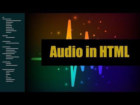 Learn Audio in HTML | Eduonix