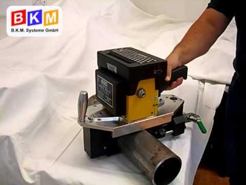 2.1 Akkubetriebener tragbarer Nadelpräger mit Spannvorrichtung