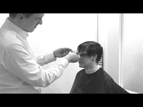 Środków ludowej włosów z sekcji