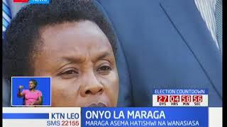 Jaji mkuu awakashifu wanasiasa akishikilia msimamo wa mahakama ya juu kuhusu uchaguzi wa urais