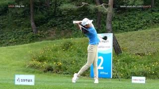 [Slow HD] JEONG Han-Na 2013 Driver With Practice Golf Swing (1)_KLPGA Tour