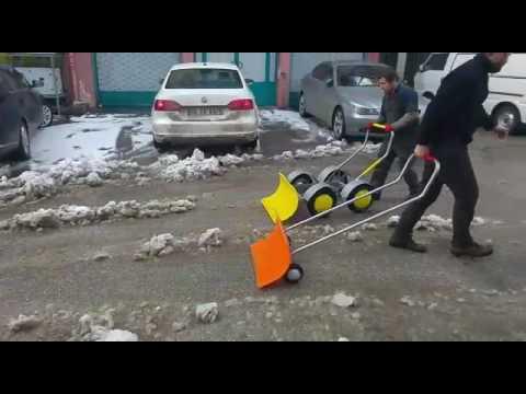 Kar buz temizleme, Karla Mücadele, Kar Küreme Arabası