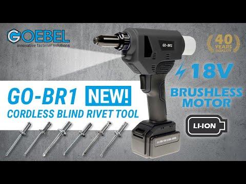 Cordless Blind Rivet Tool - AKKU GO-BR1
