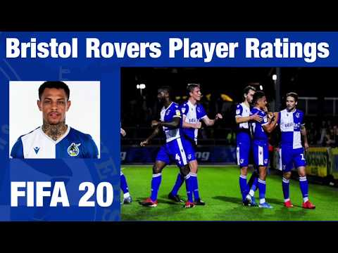 FIFA 20 BRISTOL ROVERS PLAYER RATINGS