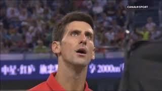 Angry Djokovic vs Umpires