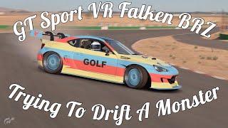 GT Sport Drifting in VR - Formula D BRZ