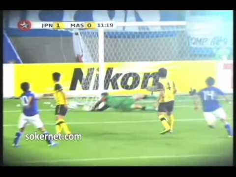 Japan U23 vs Malaysia U23   Superb Khairul Fahmi Goalkeeping