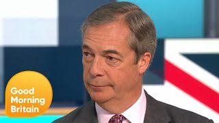Nigel Farage Offers Boris Johnson a Non-Aggression Election Pact | Good Morning Britain
