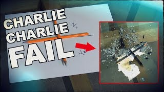Charlie Charlie Game Gone Wrong