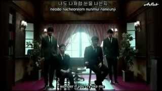 I Wonder If You Hurt Like Me - 2AM MV (English+Hangul+Romanization)