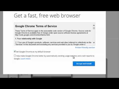 How to Replace Internet Explorer With Google Chrome Browser : Internet & Tech Tips