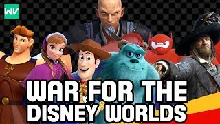 War For The Disney Worlds Explained! – What Is The Second Keyblade War? | Kingdom Hearts III