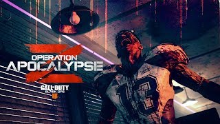 The Apocalypse is here.  Play as Reaper in MP, drop into newly updated Blackout maps, take on a new Zombies experience, and much more tomorrow in Operation Apocalypse Z for Call of Duty®: Black Ops 4 on PS4, with other platforms to follow.