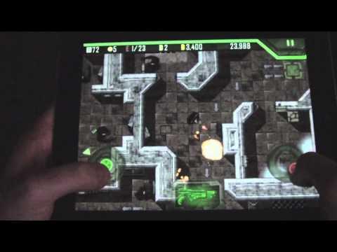 alien breed ios gameplay