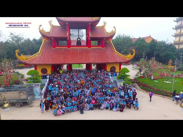 Tổng Hợp Khóa Tu Sinh Viên Tháng 02 Năm Mậu Tuất tại chùa Khai Nguyên