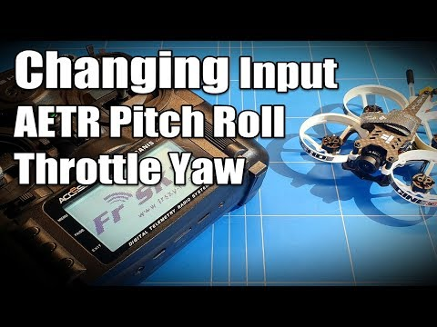 Frsky Taranis X9 Lite Changing Inputs Channels For Betaflight To FLY iFlight Cinebee 75HD