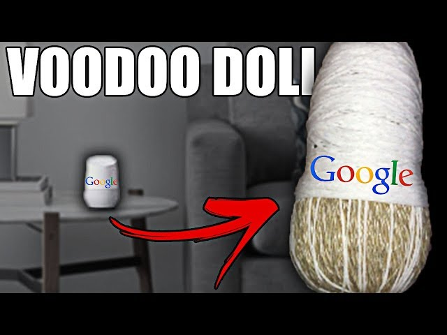 (REVENGE ON GOOGLE) DO NOT MAKE GOOGLE HOME VOODOO DOLL AT 3:00 AM *THIS IS WHY* VOODOO DOLL AT 3 AM