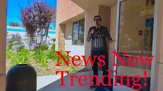 New Trend, eating on the clock! No shame... 1st Amendment Audit Bakersfield Parole office (fail)