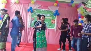 Fresher's Dance By New Commers