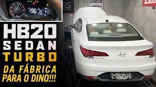 HB20 Sedan 1.0 Turbo no dino: quanto vem de potência e torque? E o tudinho é bom, parado nos rolos?
