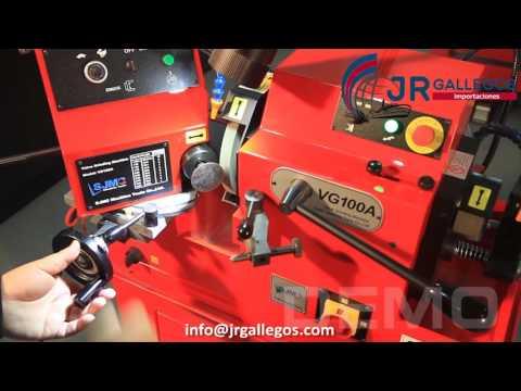 Rectificadora de Válvulas SJMC - Modelo VG100 / VG100A