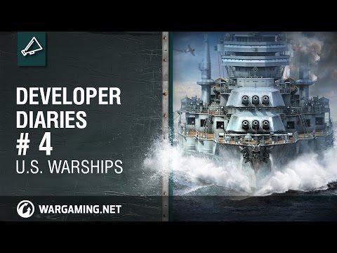 Developer Diaries #4 U.S. Warships