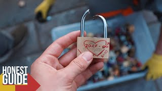 REMOVING LOVE LOCKS FROM BRIDGES & STATUES (Honest Guide)