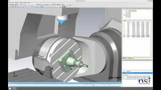 Mastercam erweiterte Maschinensimulation