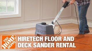 HireTech Floor and Deck Sander | The Home Depot Rental