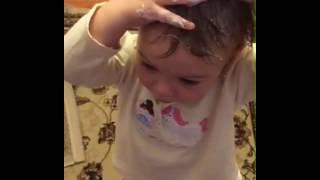 Ребенок Харламова, дочь Харламова, бешаный тюнинг, Прикрасные волосы, чудо ребенок