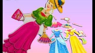 Công Chúa Lọ Lem mới nhất và Đồ chơi thay đổi váy dạ tiệc đẹp | đồ chơi trẻ em |Toy Doll| Chị Bí Đỏ