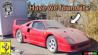 Abandoned Ferrari F40 Treasure Hunt - Gas Monkey Garage & Salomondrin Step In To Help The Search