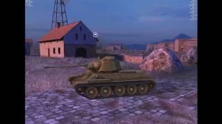 WoT Blitz легендарный Т-34. Обзор