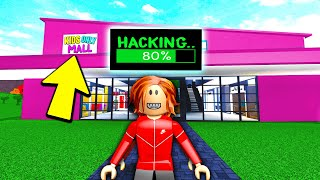 Kids Only Bloxburg Mall Was Planning To Hack A Youtuber Roblox
