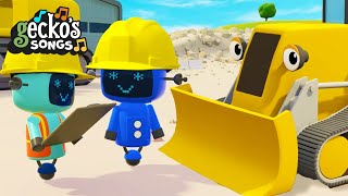 Construction Site Song|Construction Trucks|Educational Videos For Kids|Funny Cartoon