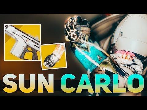 Monte Carlo + Sunbracers (Sun Carlo) Warlock Build | Destiny 2 Shadowkeep Builds