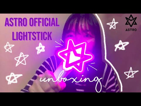 Download Astro Lightstick Unboxing Video 3GP Mp4 FLV HD Mp3 Download