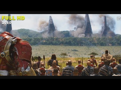 Batalla en Wakanda [COMPLETO HD] Avengers Infinity War | Infinity Clip