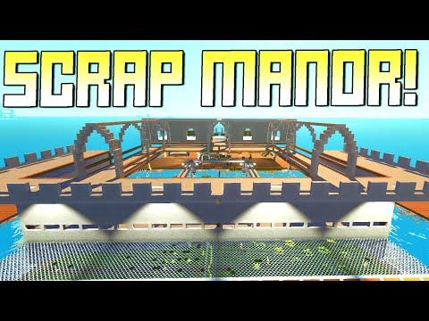 Base Building Gets Serious! Expanding Scrap Manor!  - Scrap Mechanic Survival Mode [SMS 40]