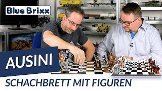 Großes Schachbrett mit Figuren von Ausini @ BlueBrixx