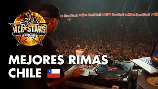 Revive las mejores rimas de la primera fecha de #GodLevel All Stars World Edition en #Chile.  Consigue tus entradas en http://bit.ly/GodLevelEntradas  Mira los videos oficiales en http://bit.ly/GodLevelOficial  #GodLevelAllStars -- » Escúchanos en Spotify https://win.gs/BatallaSpotify » Entra en la gallera: http://win.gs/LaGallera » Batalla en Facebook: https://www.facebook.com/RedBullBatalla » Batalla en Twitter: https://twitter.com/redbullbatalla » Batalla en Instagram: https://instagram.com/redbullbatalla