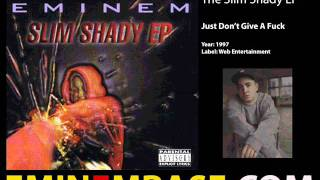 Eminem - Just Don't Give A Fuck (Original)