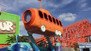 Bikini Bottom Bus Tour Ride Nickelodeon Land