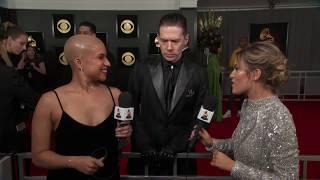 Ghost Red Carpet Interview   2019 GRAMMYs