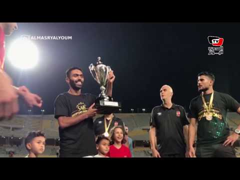 حسين الشحات يحتفل على طريقة مؤمن زكريا