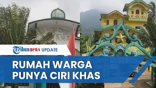 Penampakan Rumah Warga yang Dibangun Sultan Baginda Angling Dharma Pandeglang, Punya Ciri Khas